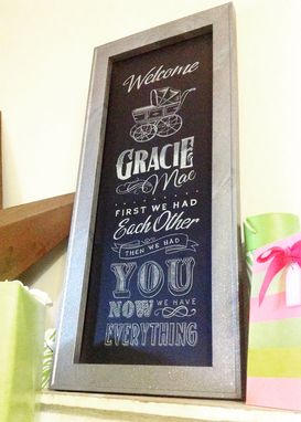 Custom Made Home And Family Chalkboards