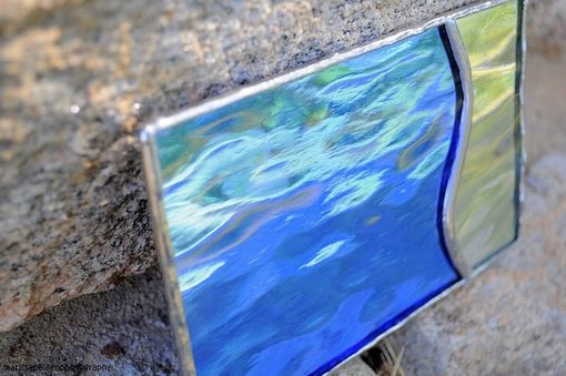 "Custom Made ""Diamonds"" - Stained Glass Jewelry/Keepsake Boxes"