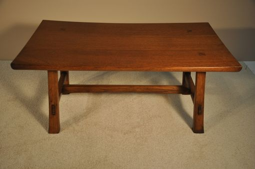 Custom Made Teak Bench/Coffee Table