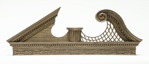 Custom Made Sample Pediment/ Sculpture