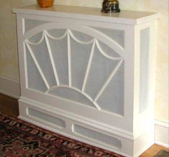 Custom Made Fanlight Radiator Cover