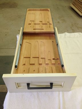 Custom Made Re-Make Of Kitchen Knife Drawer
