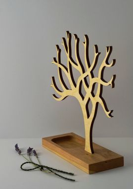 Custom Made Jewelry Tree