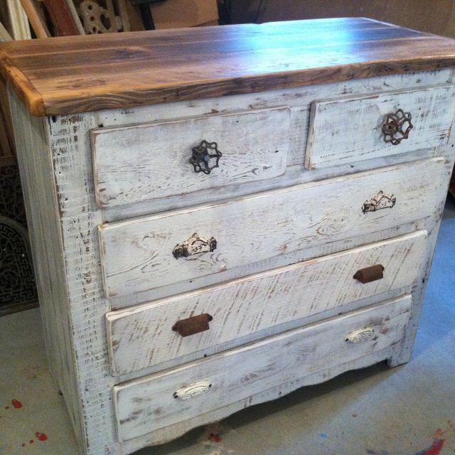 wash white furniture a grey stain given wood dresser rosette empire creative gray drawer and