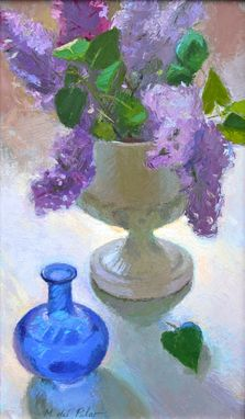Custom Made Lilacs (Filtered Light) ...Oil Painting