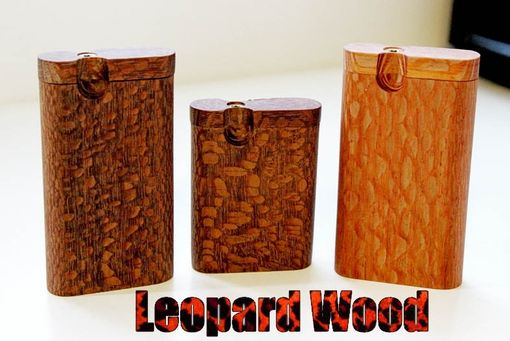 Custom Made Leopard Wood Dugout Tall