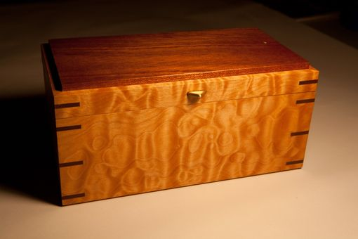 Custom Made Quilted Maple Box