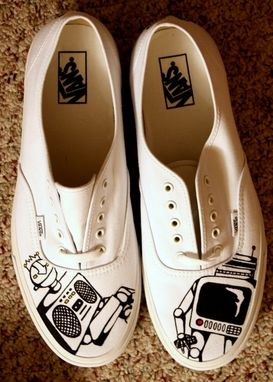 Custom Made Commissioned Robot Vans