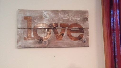 Custom Made Love Country Sign