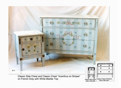 Custom Made Classic  Three Drawer Chests