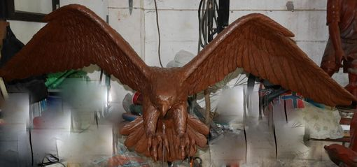 Custom Made Bronze Custom Falcon In Flight