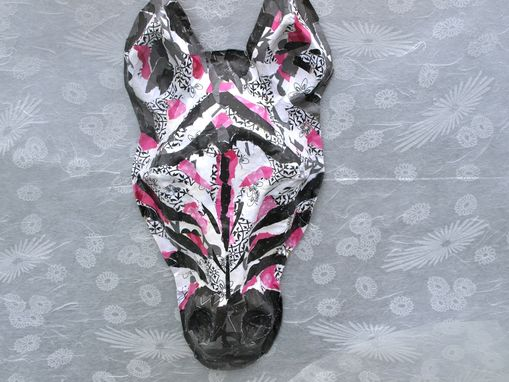 Custom Made Diva Zebra Decorative Mask