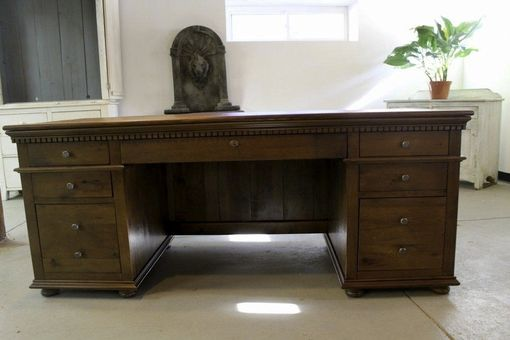 Custom Made Custom Made Reclaimed Oak Desk