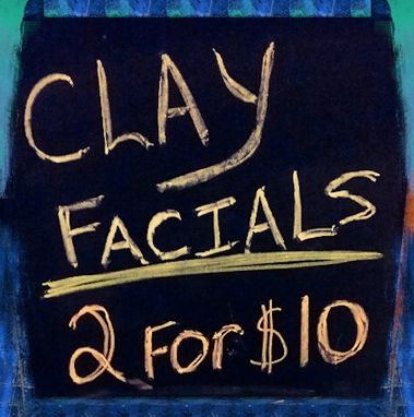 Custom Made Clay Facials