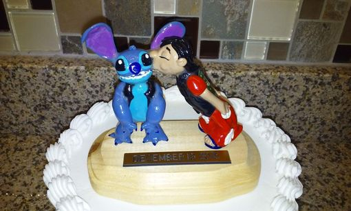 Custom Made Ivy Creations Wedding Cake Toppers