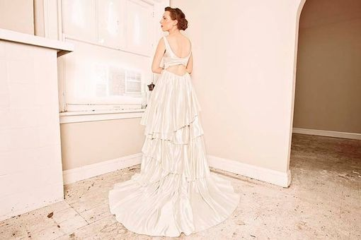 Custom Made Cypress Eco Wedding Gown- Long & Short