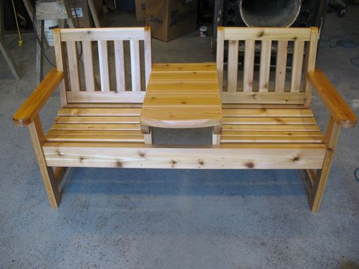 Custom Made Twin Seater Bench