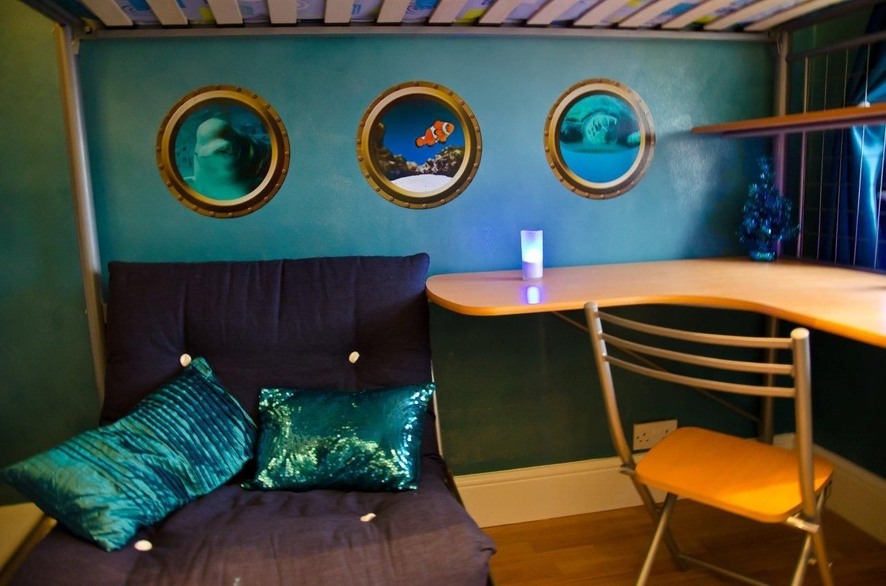 Hand Made Under The Sea Bedroom - Porthole Wall Decals by Wilson ...