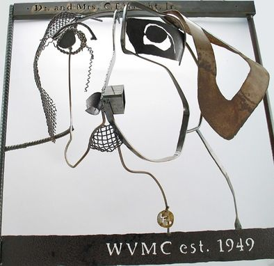 Custom Made Animal Portraits :: Contemporary Wall Art, Relief Sculpture