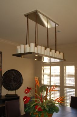 Custom Made Electric Candle Chandelier