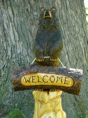 Custom Made Welcome Bear