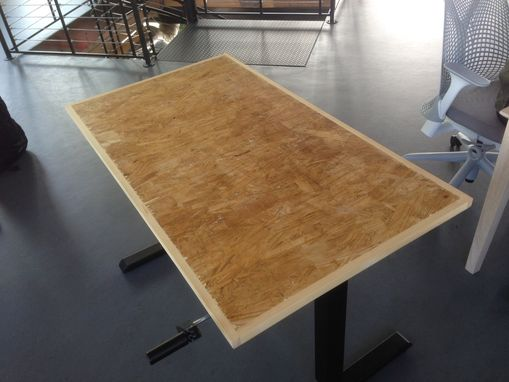 Hand Made Oriented Strand Board Osb Desktops 2 X4 By M