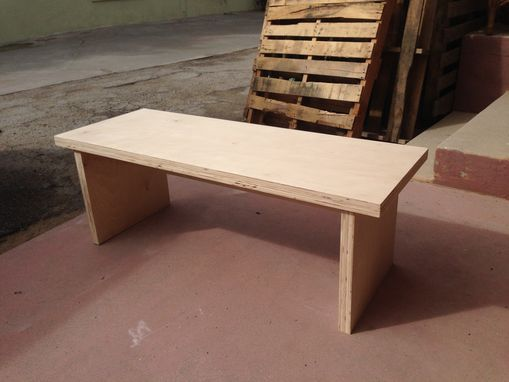 Custom Made Birch Plywood Benches