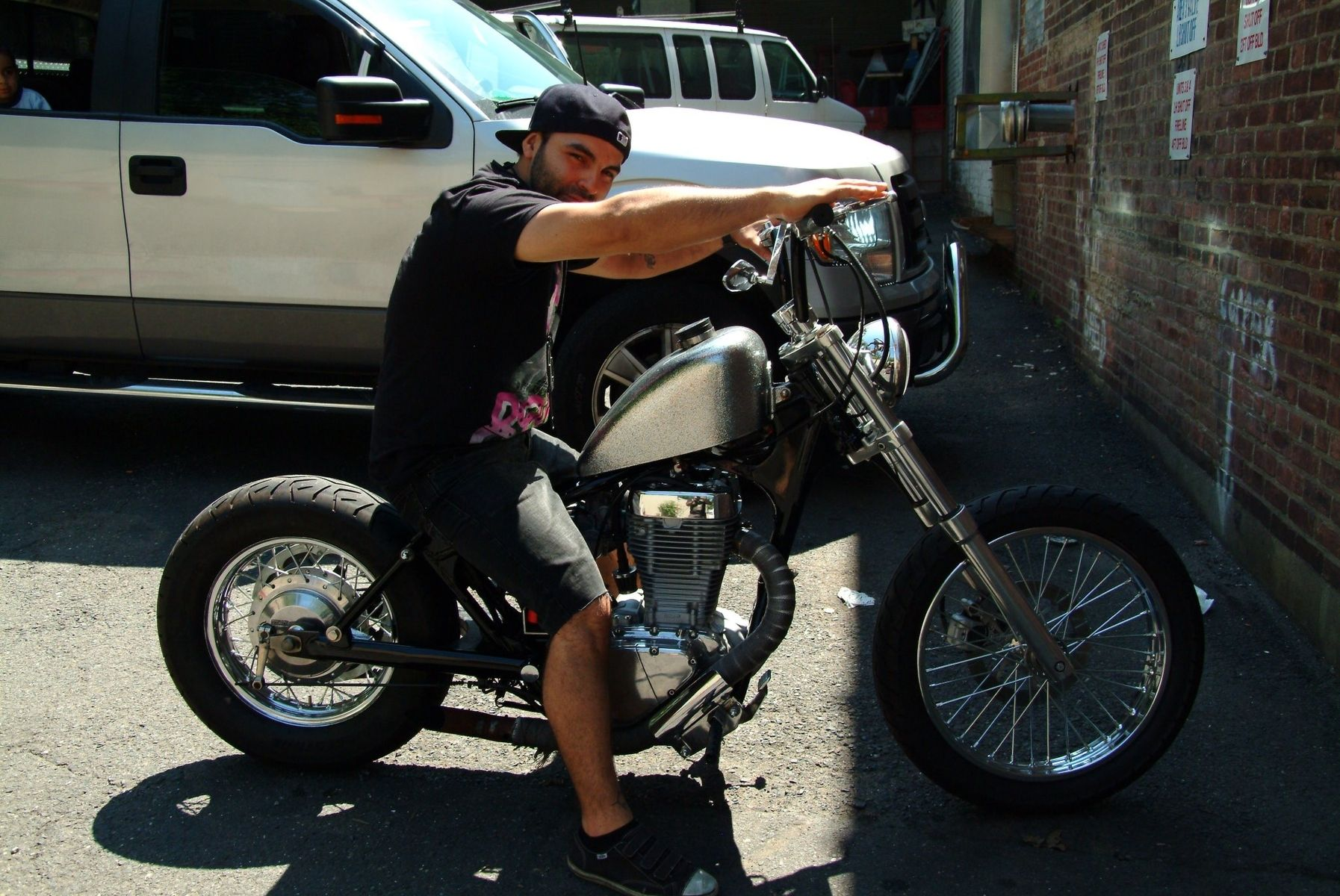 Hand Crafted 1986 Suzuki Savage Ls650 Custom Bobber by SteelDesign