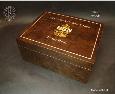 Custom Made Handcrafted Humidor's Made In The U.S.  Hd-50