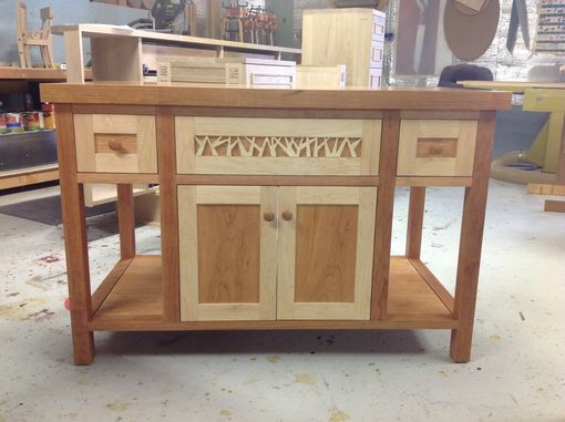 Custom Made Bathroom Vanity Or Any Cabinet With Details