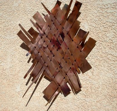Custom Made Copper Art Work