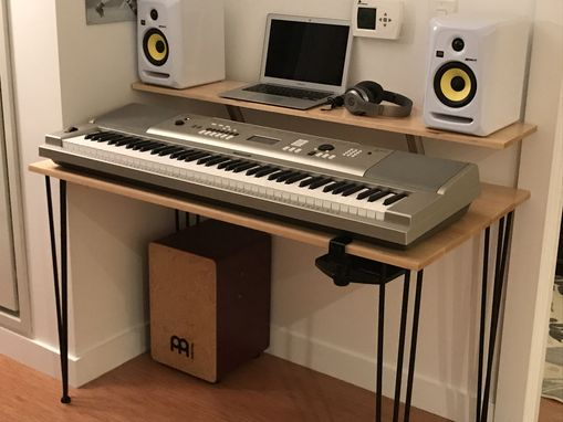 Custom Made Music Production Desk