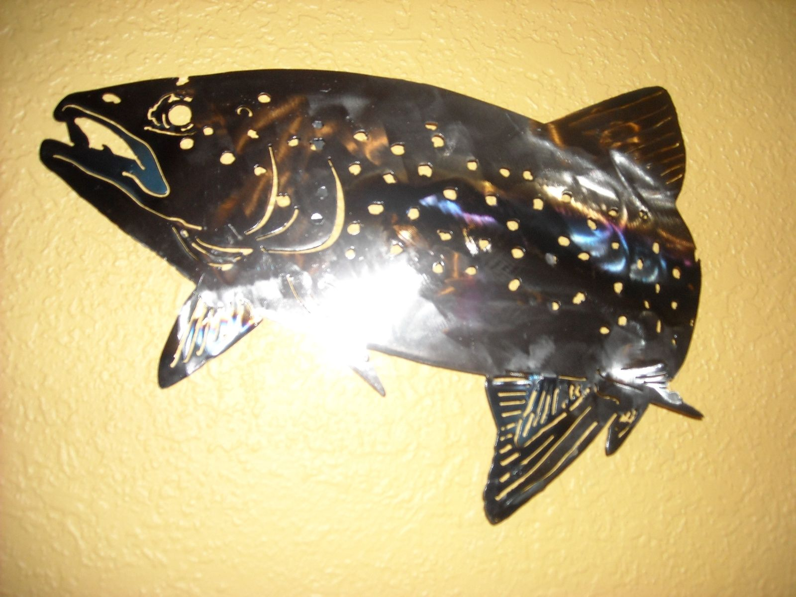 Custom Rainbow Trout Wall Art by Superior Iron-Artz Llc | CustomMade.com