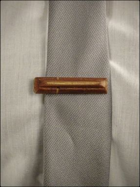 Custom Made (Tie Clip - Mahogany) Wearable Accessories