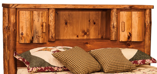 Buy A Hand Crafted American Made Rustic Pine Log Bed With