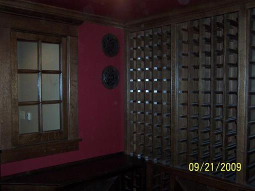 Custom Made Custom Wine Room