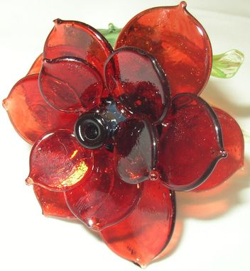 Custom Made Glass Rose's