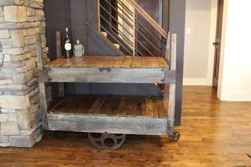 Custom Made Bar Cart