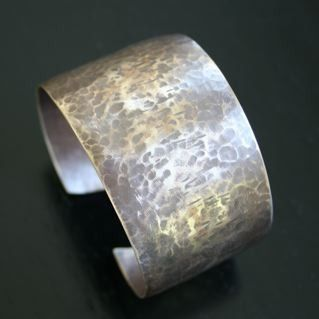 Custom Made Synclastic Brass Cuff