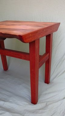 Custom Made Live-Edge Dining Nook Table