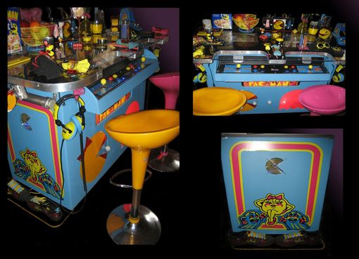 Custom Made Ms. Pacman Custom Tabletop Top Arcade