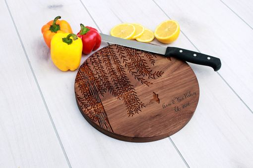 Custom Made Personalized Cutting Board, Engraved Cutting Board, Custom Wedding Gift – Cbr-Wal-Anne Ben Perkins