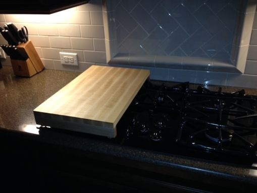 Custom Made Over Stove Top Cutting Board