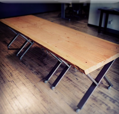 Custom Made Broken Bread Table