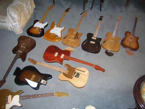 Custom Made Very Special Custom Electric Guitars/ Historic Wood