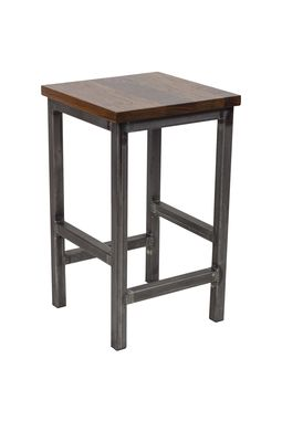 Custom Made No-Nonsense Bar Stool