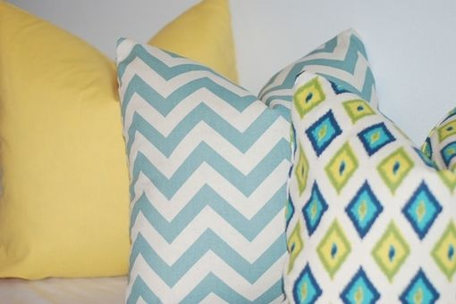 Custom Made Solid Yellow Pillow Cover