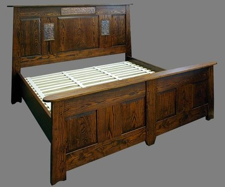 Custom Made Highland King Bed, In Ash