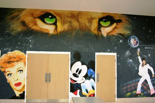Custom Made Elementary School Lunchroom Transformation!!