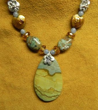 Custom Made Big Horn Jasper Necklace